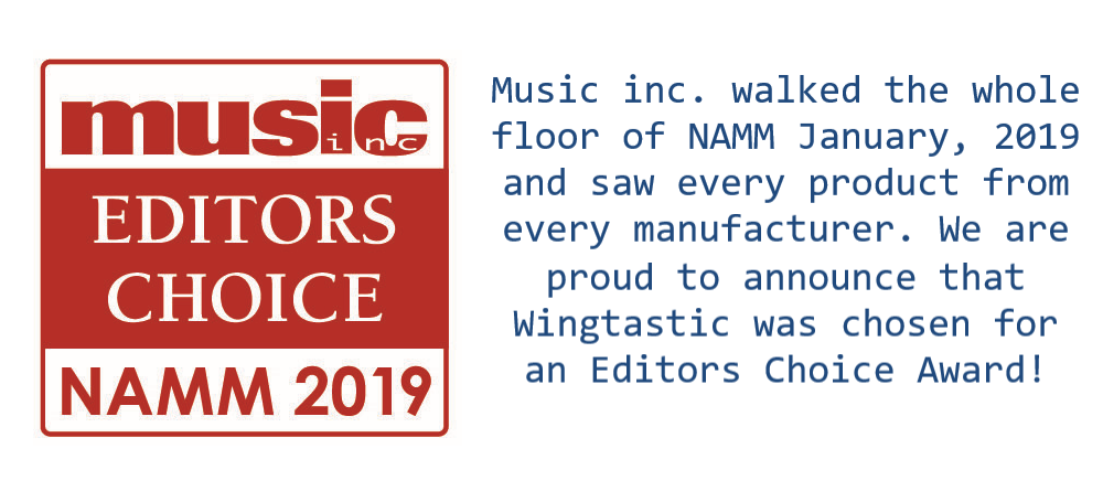 NAMM 2019 Editors Choice Award